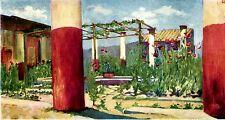 Pompei: Casa del fauno ubriaco. House of the Drunken Faun. Stampa Antica. 1904