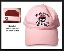 Pink Pirate Princess Hat Adjustable Cotton Baseball Cap Skull and Crossbones New