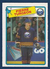 PIERRE TURGEON ROOKIE RC 88-89 O-PEE-CHEE 1988-89 NO 194 NRMINT+