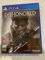 Dishonored: Death of the Outsider (Sony PlayStation 4) Brand New / Fast Shipping