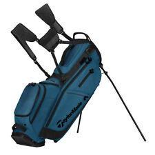 TAYLORMADE GOLF FLEXTECH CROSSOVER STAND BAG TEAL/BLACK 14-WAY TOP NEW!! 19352