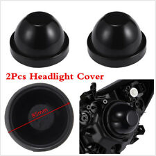 2x Car 85mm Rubber Housing Seal Cap Car Dust Cover For LED Headlight Retrofit
