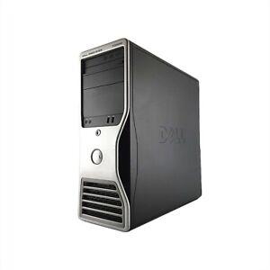 Dell Precision T3500 W3530 4x2,8Ghz. 12GB RAM  240GB SSD 500GB SATA DVDRW  Win10