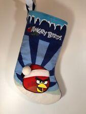 """Angry Birds Christmas Stocking 17"""" RED BIRD Rovio"""