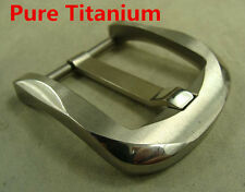 Ti Titanium Belt Buckle Belt Fastener Brushed Finish anti allergic for 38mm Belt
