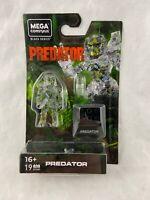 Mega Construx - Black Series - Cloaked Predator - Mini Figure - NEW