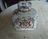 Élégant Flacon à parfum en porcelaine XIXè siècle