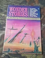 Vintage 1963 Wonder Stories Sci Fi Pulp Digest Bradbury Vonnegut CS