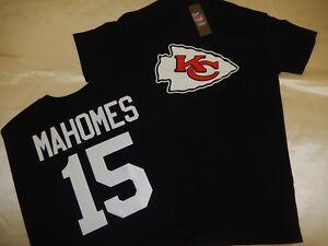 0117 BOYS Kansas City Chiefs PATRICK MAHOMES Eligible Receiver Jersey Shirt BLK