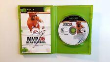MVP 06 NCAA Baseball - Original Xbox Game COMPLETE CIB