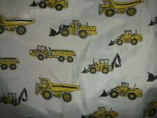 Excavadora JCB Camión Camiones Impreso material de tela de nylon