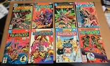 WARLORD LOT (57) DC comics 1979-88 Mike Grell Rich Buckler set run collection