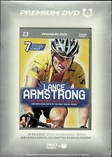 LANCE ARMSTRONG -THE MAN BEHIND THE LEGEND-NEW DVD+BIOGRAPHY BOOK -FREE POST