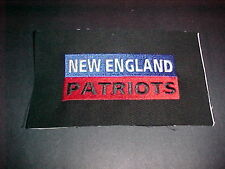 NEW ENGLAND PATRIOTS PROTO TYPE DECAL PATCH