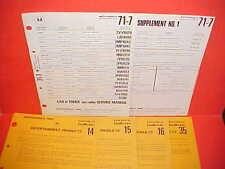 1971 MGB PEUGEOT 304 VOLVO IH WHITE MACK TRUCK MOTOROLA AM RADIO SERVICE MANUAL