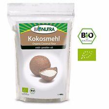 BioNutra Kokosmehl Bio 1000 g, entölt, fein gemahlen, glutenfrei, Ballaststoffe
