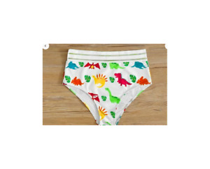Shein Dinosaur Cartoon Characters High Waist Bikini Size US M