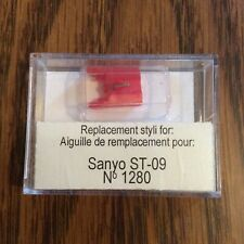 AMX 1280 Stereo Diamond Needle Replacement Stylus For Sanyo ST-09