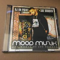 DJ On Point Joe Budden Mood Muzik #1 Classic Jersey Rap Mixtape Mix CD