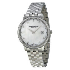 Raymond Weil Toccata Mother of Pearl Dial Diamond Ladies Watch 5388-STS-97081
