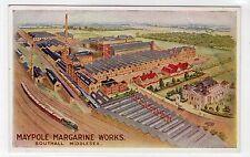 MAYPOLE MARGARINE WORKS, SOUTHALL: Middlesex postcard (C12938)