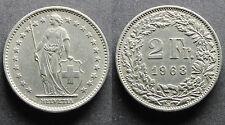 2 Francs Suisse 1968