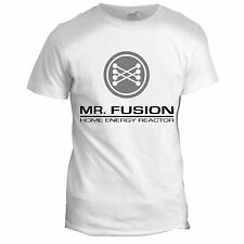 Mr Fusion Inspired Back to the Future 90s Mens Dad Film Movie McFly T Shirt