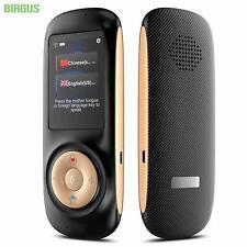 Birgus Instant Voice Language Translator Device Smart Two Way WiFi 2.4inch Touch