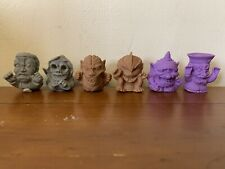Maba Zombie Keshi Series Two Full Set With Original Instructions
