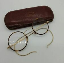 Antique tortoise shell spectacles with gold arms