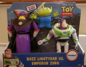 Disney-Pixar Toy Story 4 Buzz Lightyear Vs. Emperor Zurg W/ Alien Figures