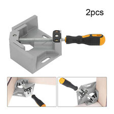 2X 90°Right Angle Inside Corner Clamp Cast Metal Welding Woodworking Vice Holder