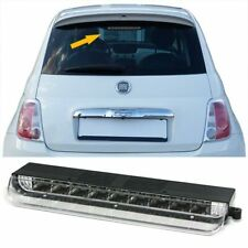 Terzo stop led cromo Fiat 500 2007-