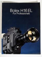 BOLEX H16 EL INFO PACKET