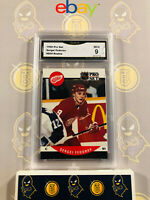 1990 Pro Set Sergei Fedorov #604 Rookie - 9 MINT GMA Graded NHL Hockey Card