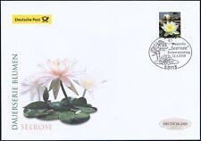 BRD 2018: Die Seerose! Post-FDC der selbstklebenden Nr. 3376! Bonn-Stempel! 1806