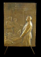 Médaille J Courmont médecin biologiste alcoolisme tuberculose PRicher 1919 medal