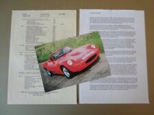 GINETTA G27 orig c2002 UK Mkt Sales Leaflet Brochure + Prices & Company History