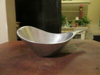 Nambe Dish Bowl Candy Handle  568 Vintage Candy Dish Metal