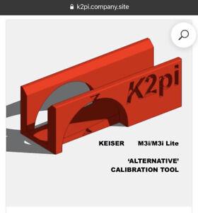Keiser M3i Calibration Tool - 3D Printed Alternative. (K2pi)
