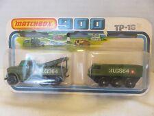 Matchbox SuperFast 900 Military Alvis Stalwart & Dodge Wrecker TP-16 Die-Cast