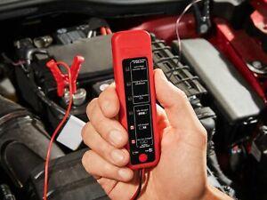 NEU Batterietester & Lichtmaschinentester Batterie Tester für alle 12V Batterien