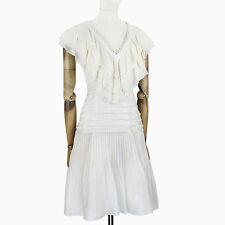 Linen Blend V Neck Sleeveless Dresses for Women