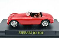 Model Car Ferrari 166 MM Scale 1/43 diecast auction vehicles collection IXO