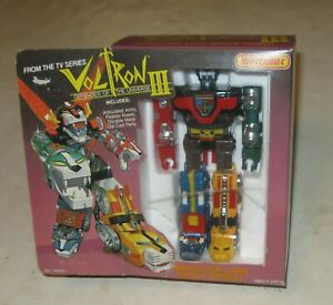 1984 MATCHBOX VOLTRON III MINIATURE LION SPACE ROBOT MINT IN THE BOX NRFB