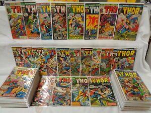 Thor 201-300 SET 1972-1980 Solid/Nice! Marvel Comics (s 12323)