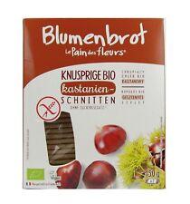 (2,33 EUR/100 g) Blumenbrot Knusprige Kastanien Schnitten bio 150 g