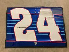 2016 Chase Elliott Rookie 24 NAPA Las Vegas Race Used Sheetmetal Door