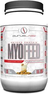 Purus Labs MYOFEED Protein 2 lbs - 25 Servings Amino-Rich Fiber Vanilla Wafer