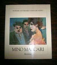 MINO MACCARI - 58° Premio Letterario Viareggio-Rèpaci # Diapress 1987 # 1A Ed.